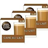 Nescafé Dolce Gusto capsules Cafe au Lait - 48 koffiecups - geschikt voor 24 koppen koffie - Dolce Gusto cups