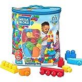 Mega Bloks bouwsteen-rolkoffer Bouwstenen zakje 80 delen 80 pezzi multicolor