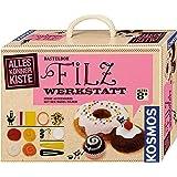 KOSMOS AllesKönnerKiste Filz-Werkstatt für Anfänger – DIY-Bastelset für kreative Mädchen und Jungen ab 8 Jahren – das…