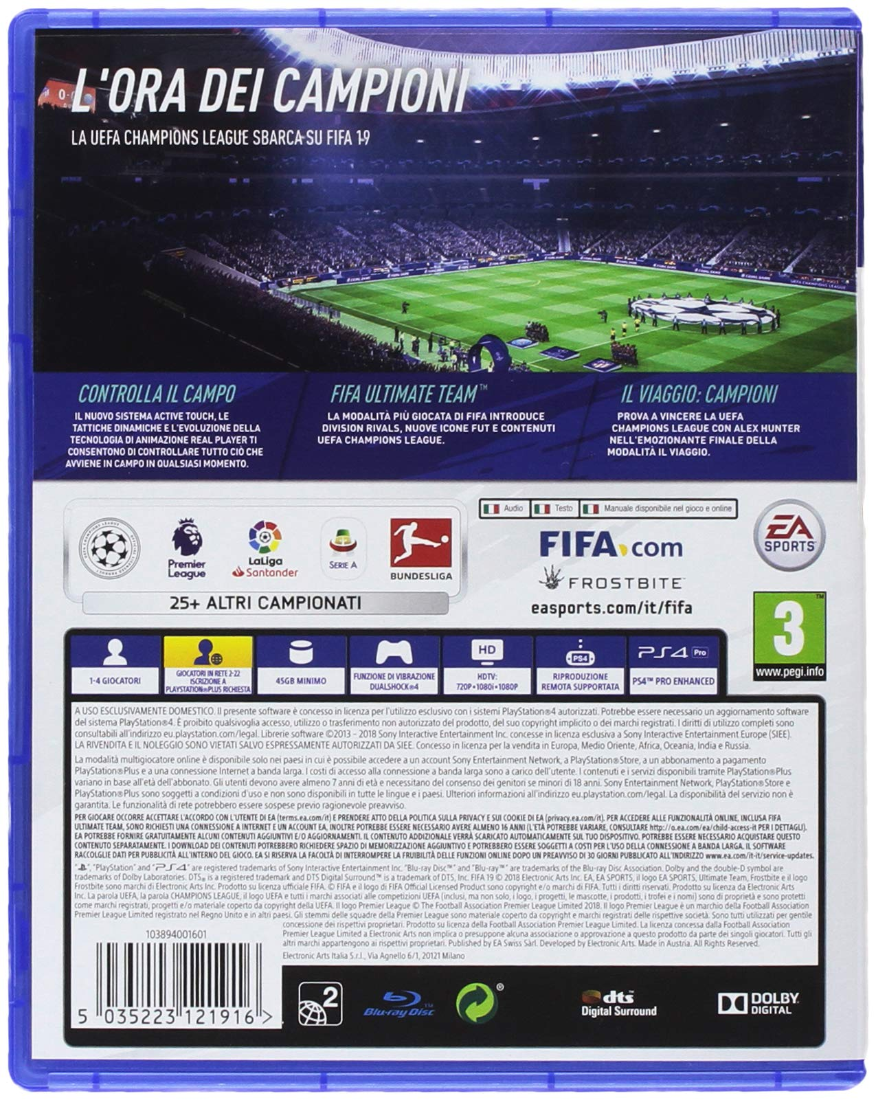 FIFA 19 - PlayStation 4 2 spesavip