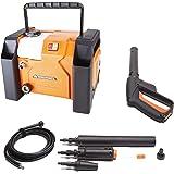 YardForce EW U13 Elektrische hogedrukreiniger, 1800 W, krachtige elektrische drukreiniger in compact boxdesign, ideaal voor t
