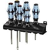 Wera Kraftform Screwdriver Set And Rack, 05032063001, 6 Pieces
