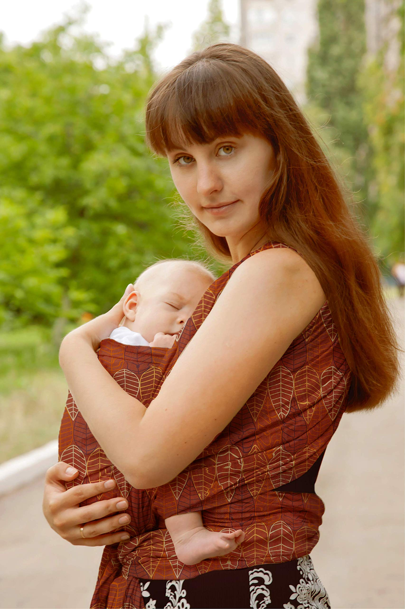Hypoallergenic GOTS Organic Certified Cotton Baby Wrap Sling Carrier | No Antracene | Certifications: CPSIA, GOTS, CCPA, UK/EU, Safety Tested | Washing & Drying Machine | Newborn | Infant | EU Brand  PiccolOrganics