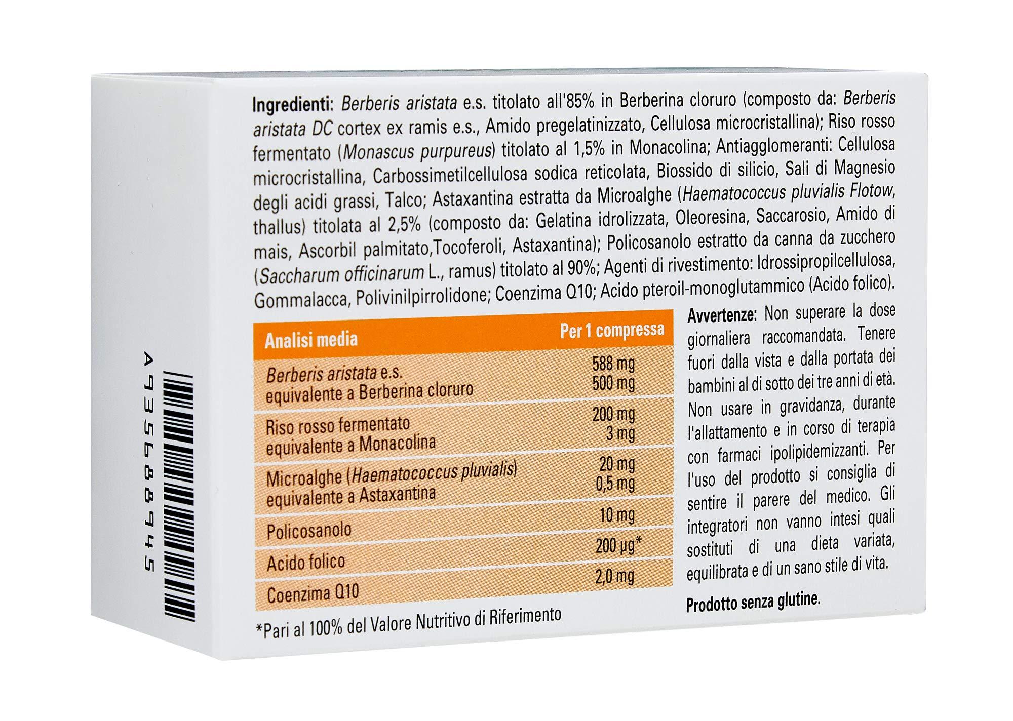 Armolipid Plus integratore alimentare con riso rosso, 30 compresse 2 spesavip