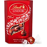 Lindt Lindor Milk Chocolate Truffles Box - Approx. 26 Balls, 337 g - Perfect for Gifting or Sharing - Chocolate Balls with a