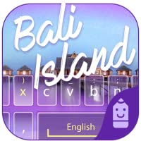 Bali Island  Theme&Emoji Keyboard