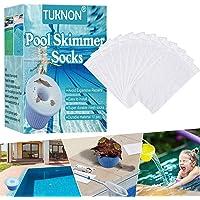 TUKNON Chaussette Skimmer, Chaussette Skimmer Piscine, Pool Skimmer Socks, Préfiltre Skimmer, Chaussettes de Skimmer De…