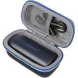 co2CREA Voyage Stockage étui pour Bose SoundSport Free Écouteurs de Sport sans Fil(Travel Case) (Bleu Nuit)