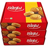 Biteful India Hyderabad Osmania Biscuits - Pack of 3 (480grams x 3)