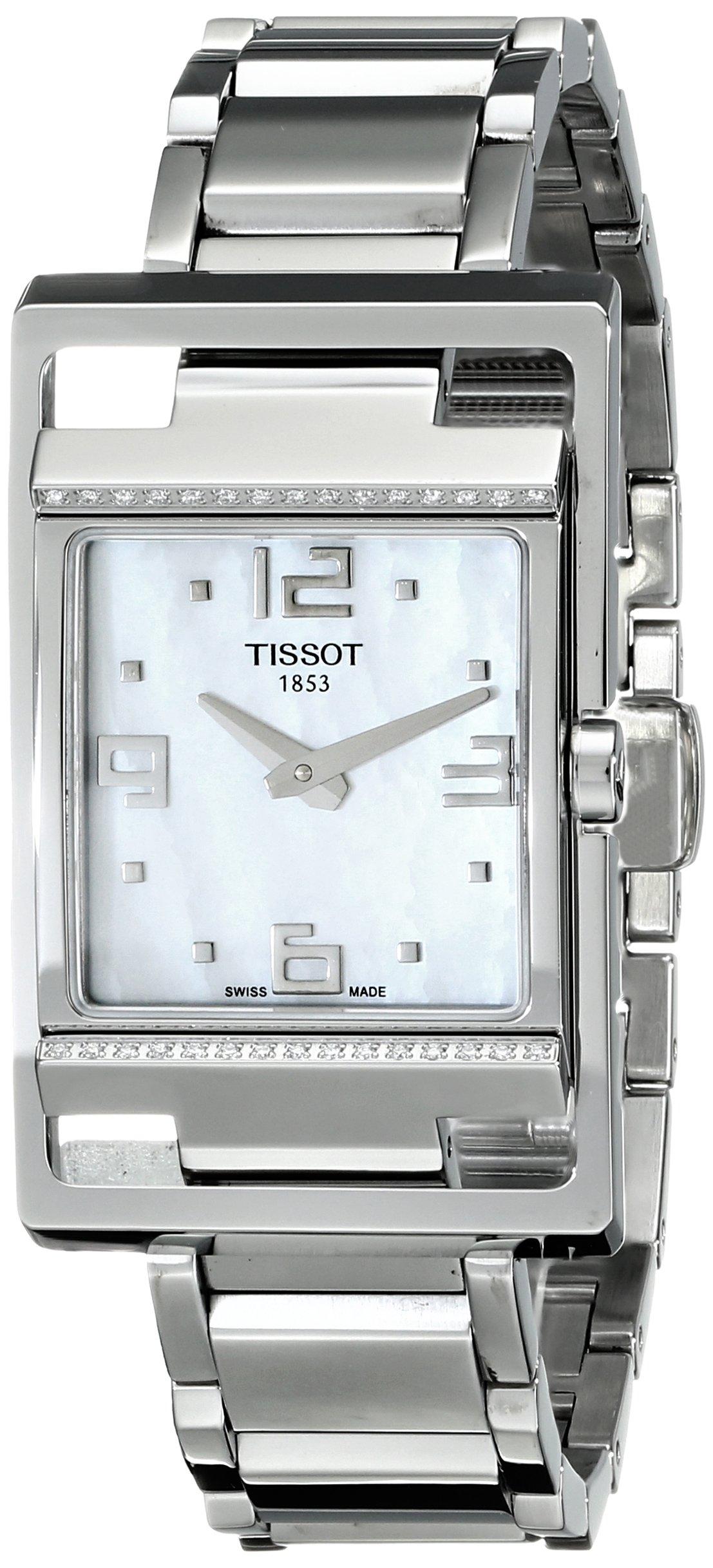 Tissot My T-Square T0323091111701 – Reloj de caballero de cuarzo, correa de acero inoxidable color plata
