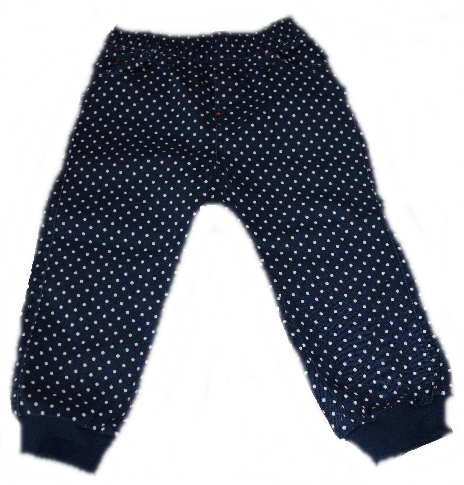 lupilu Baby-Hose für Mädchen mit Punkten