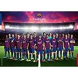 Ravensburger 19941 FC Barcelona sezon 2019/2020 puzzle, wielokolorowe, 37 x 27 x 6 cm