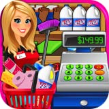 Supermarket Superstore Cash Register Simulator - Grocery Store Cashier Kids Fun Games FREE
