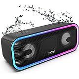 Cassa Bluetooth, DOSS SoundBox Pro + Altoparlante Bluetooth wireless con 24 W suono impressionante,bassi potenti, IPX5 imperm