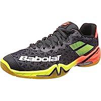 Babolat Shadow Tour 2019 30S1801-296 - Scarpe da badminton, colore: Nero/Rosso/Giallo