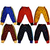 KIFAYATI BAZAR Track Pants Lower Bottom AllPrint For Kids Boys and Girls Pack of 6