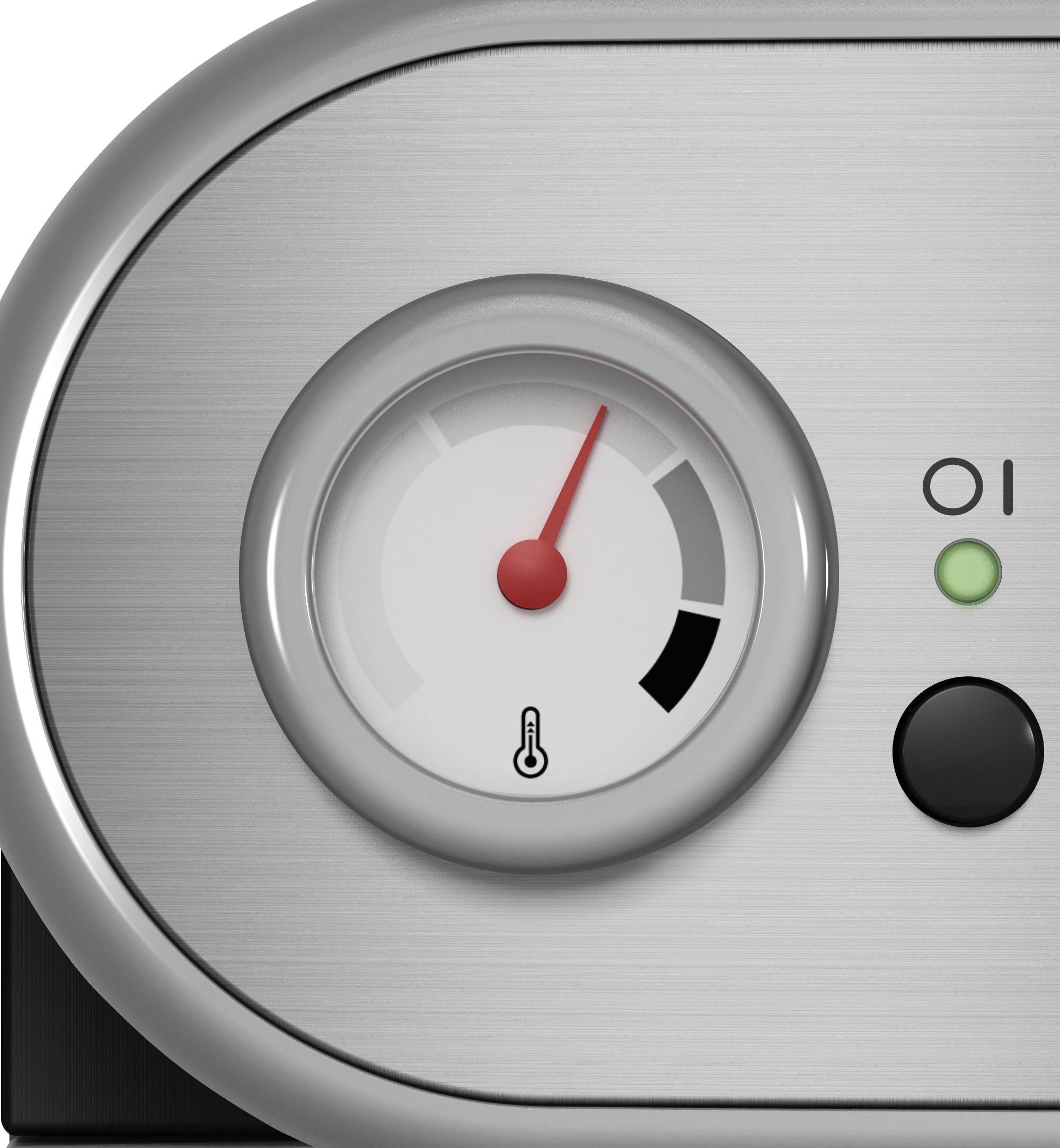 Gaggia-RI852508-Carezza-Manual-Coffee-Machine-grey