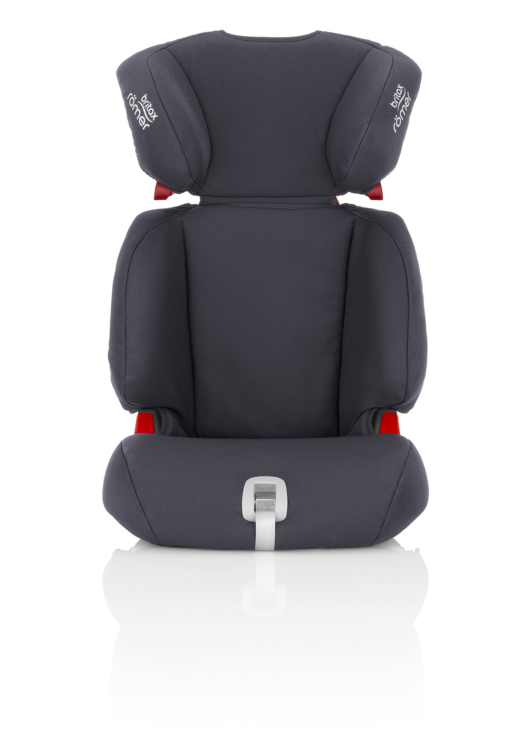 Britax Römer DISCOVERY SL Group 2-3 (15-36kg) Car Seat - Storm Grey  Our high back boosters protect your child in 3 ways: the seat shell provides head to hip protection for your child; the upper and lower belt guides provide correct positioning of the seat belt; and the padded headrest provides safety and comfort. Adjustable backrest - the child seat's adjustable backrest allows you to match the angle of the vehicle seat, providing a better fit and a comfortable position for your child. Easy adjustable headrest - our easy-to-adjust headrest was designed especially for older children, when using the 3-point seat belt to secure them in the car seat. 2