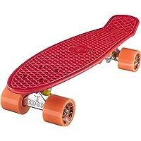Ridge Mini Cruiser Skateboard, Rosso