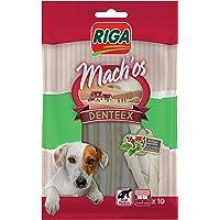 Riga Mach'OS Denteex Bâtonnets Blancs Menthe pour Chien 10 Pièces - Lot de 6