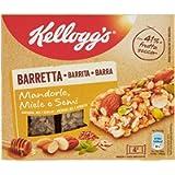 Kellogg's Barretta Mandorle Miele e Semi, 4 x 32g