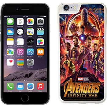 huge selection of 07dd9 b058f Marvel Avengers Infinity War case ( 45) fits iphone 4, 4s, 5 , 5s, 5c, SE  6, 6s,7, 8 ipod 5 & 6 cover hard protective (42) ironman hulk captain ...