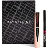 Maybelline New York Cofanetto Total Temptation, con Mascara Volumizzante Total Temptation e Eyeliner Hyper Precise