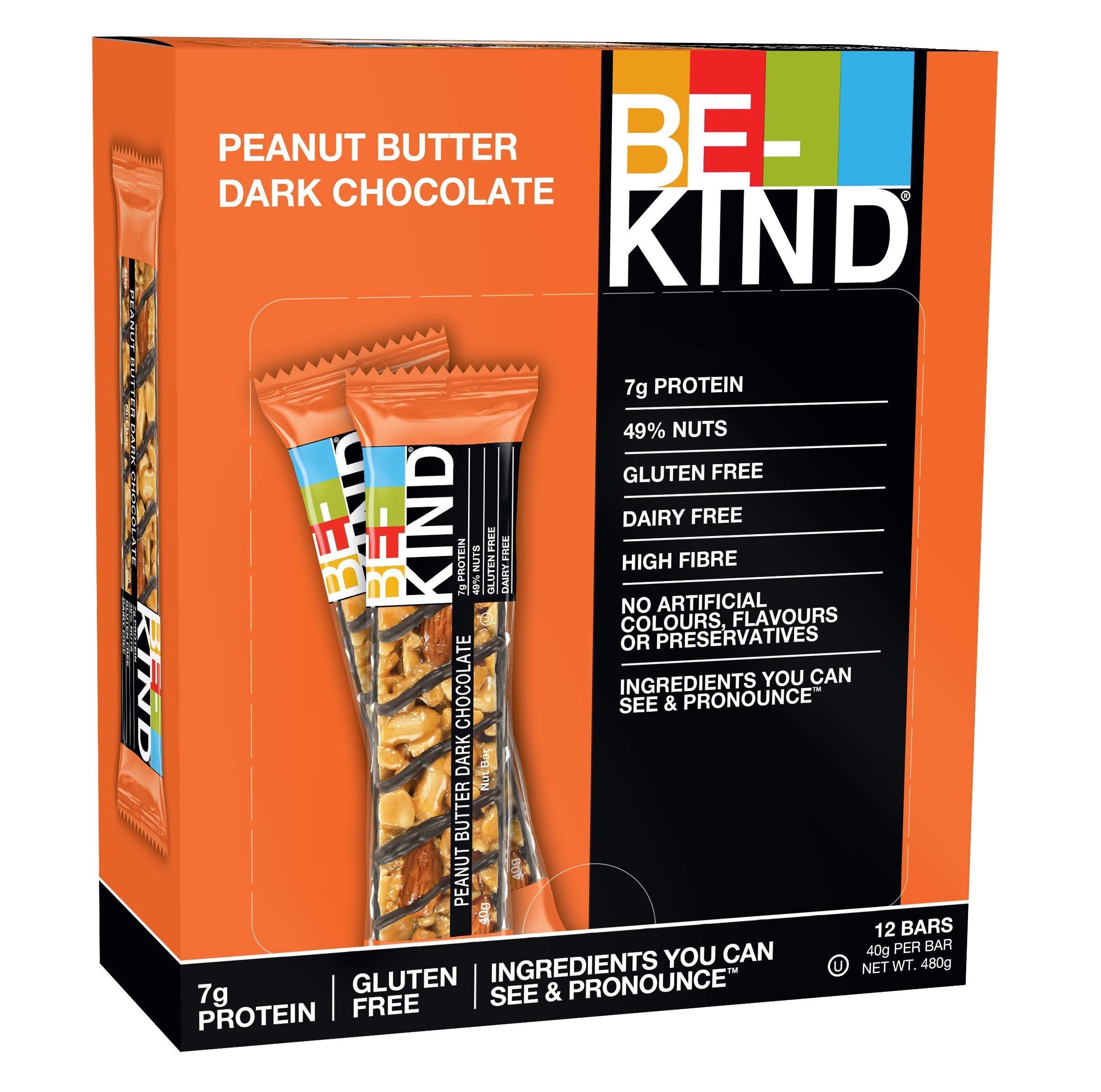 BE-KIND Snack al gusto - Barretta Senza Glutine - 12 barrette x 40g 1 spesavip