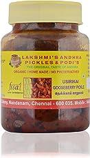 Lakshmi's Andhra Pickles&Podis. Gooseberry Pickle (Usirikai) 250 gms