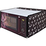 Dream Care Grey Printed Microwave Oven Cover for Samsung 28 Litre Convection Microwave Oven MC28H5025VB/TL