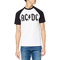 AC/DC Logo Raglan T-Shirt Uomo