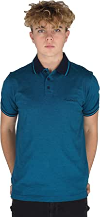 Pierre Cardin Mens Engineered Thin Stripe Polo with Signature Embroidery