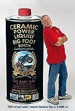 BIG FOOT BENZIN 800 ML PER MOTORI FINO A 4.000 CC 5% SCONTO SE ORDINI DIRETTAMENTE DAL NOSTRO SITO www.ceramicpowerliquid.com scrivi AMA5 al momento del pagamento
