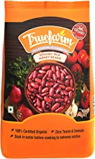 Truefarm Foods Organic Red Kidney Beans, 500g