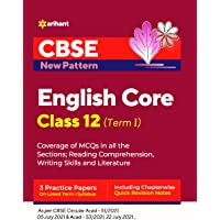 CBSE New Pattern English Core Class 12 for 2021-22 Exam (MCQs based book for Term 1)