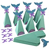 Cajas de Sirenas Cajas de Dulces Artículos de Fiesta Sirena DIY Manualidades Cajas Caja Caramelos de Sirenas para Fiesta de C