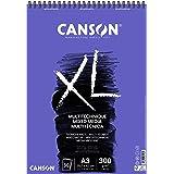 CANSON XL Mix-Media Block, DIN A3, 30 vellen, 300 g/m²