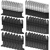 50 Stuks Oscillerende Multitool Zaagbladen Set, Universeel Multifunctioneel Oscillerend Gereedschap Accessoires, voor Fein Mu