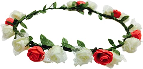 Loops n Knots Floral Tiaras for Valentine's Day