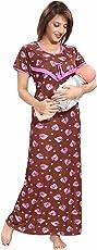 SOULEMO WOMENS FEEDING NIGHTY / MATERNITY DRESS 663