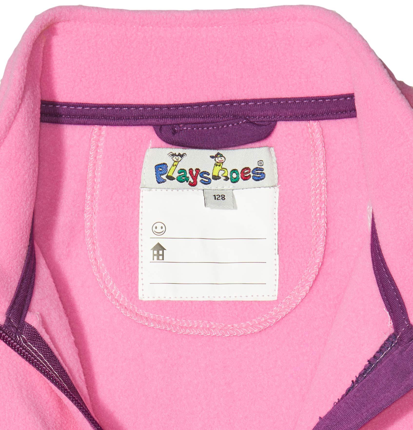 Playshoes Fleece-Weste Farbig Abgesetzt Chaleco para Niñas 3