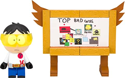 """South Park """"Toolshed"""" Stan with Top Bad Guys Board Micro Construction Set Playset"""