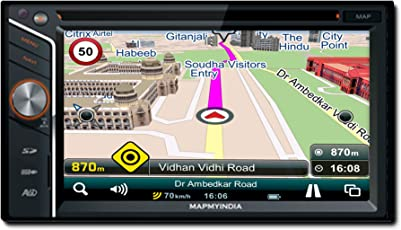 MapmyIndia Icenav 301 Navigation and Entertainment System with MapmyIndia Latest Maps