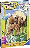 Ravensburger Malen nach Zahlen 28911 Liebevolle Pferde