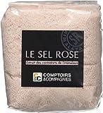 COMPTOIRS ET COMPAGNIES Sel Rose Fin Sachet 500 g - Lot de 2