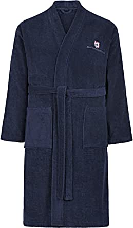 Jan Vanderstorm Janning Men`s Bathrobe and Dressing Gown, Made of 100% Soft Cotton. Bathrobes Available up to 5XL. Made in Europe
