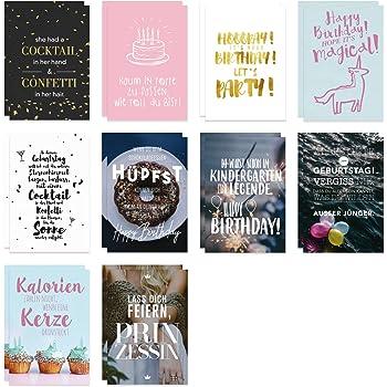 20 Postkarten Mit Spruchen I Dv 187 I Din A6 I Spruch Karten Set Lustig