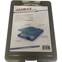 Janrax A4 Black Clipboard Box File - Storage Filing Case