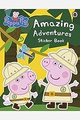 Peppa Pig: Amazing Adventures Sticker Book Paperback