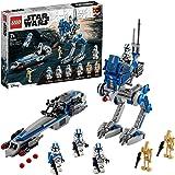 LEGO 75280 Star Wars 501st Legion Clone Troopers Byggsats med Minifigurer, Byggklossar, Barnleksaker
